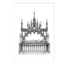 gothic tomb Postcards (Package of 8)