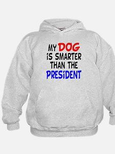 Dog Smarter Than-2 Hoodie