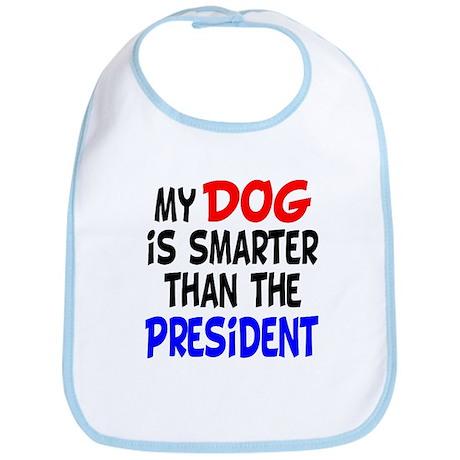 Dog Smarter Than-2 Bib