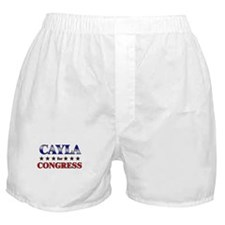 CAYLA for congress Boxer Shorts