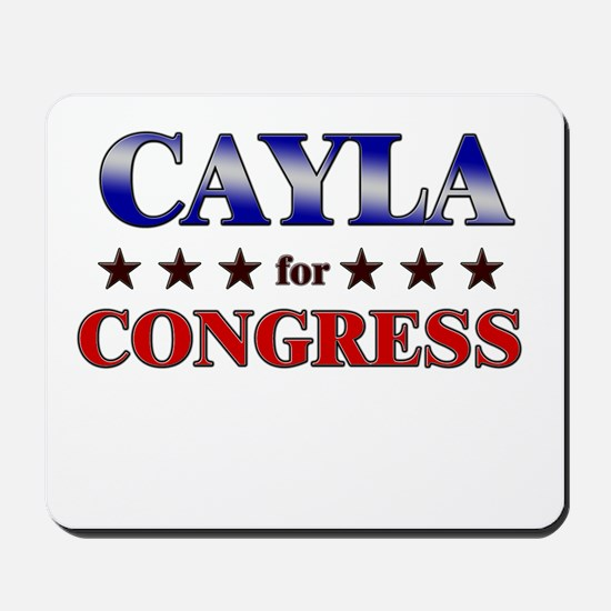 CAYLA for congress Mousepad