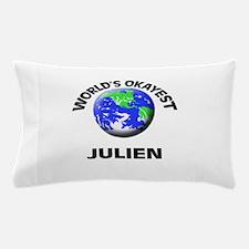 World's Okayest Julien Pillow Case