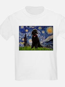Starry / Std Poodle(bl) T-Shirt