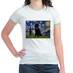 Starry / Std Poodle(bl) Jr. Ringer T-Shirt