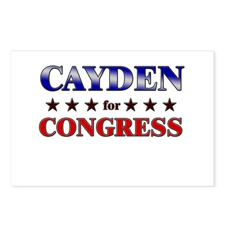 CAYDEN for congress Postcards (Package of 8)