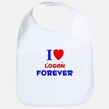 I Love Logan Forever - Bib