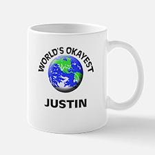 World's Okayest Justin Mugs
