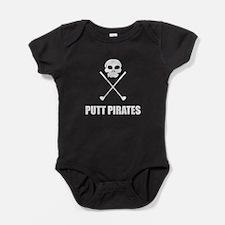 Golf Skull Crossed Putt Pirates Body Suit