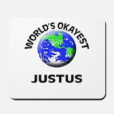 World's Okayest Justus Mousepad