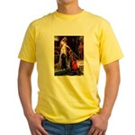 Accolade / Std Poodle(b) Yellow T-Shirt