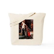 Accolade / Std Poodle(b) Tote Bag