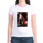 Accolade / Std Poodle(b) Jr. Ringer T-Shirt
