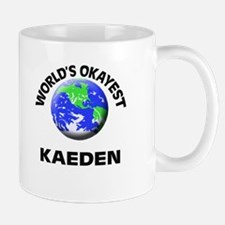 World's Okayest Kaeden Mugs