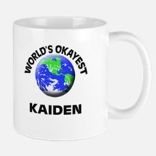 World's Okayest Kaiden Mugs