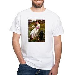 Windflowers / Poodle (BLk-ST) Shirt