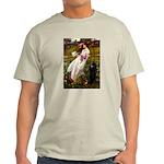 Windflowers / Poodle (BLk-ST) Light T-Shirt