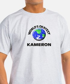 World's Okayest Kameron T-Shirt