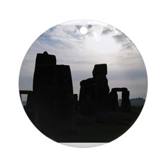 Stonehenge 2 Ornament (Round)