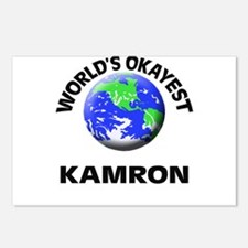 World's Okayest Kamron Postcards (Package of 8)
