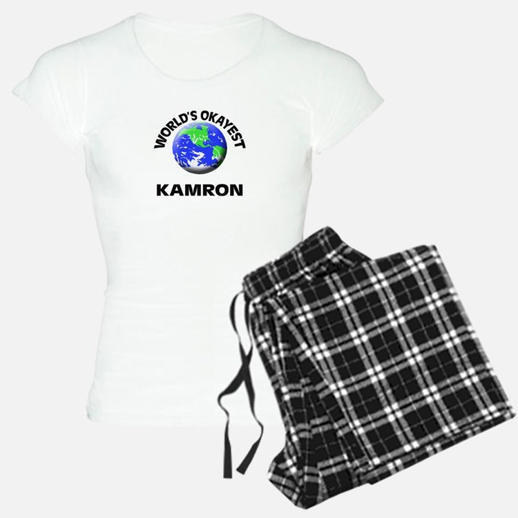 World's Okayest Kamron pajamas