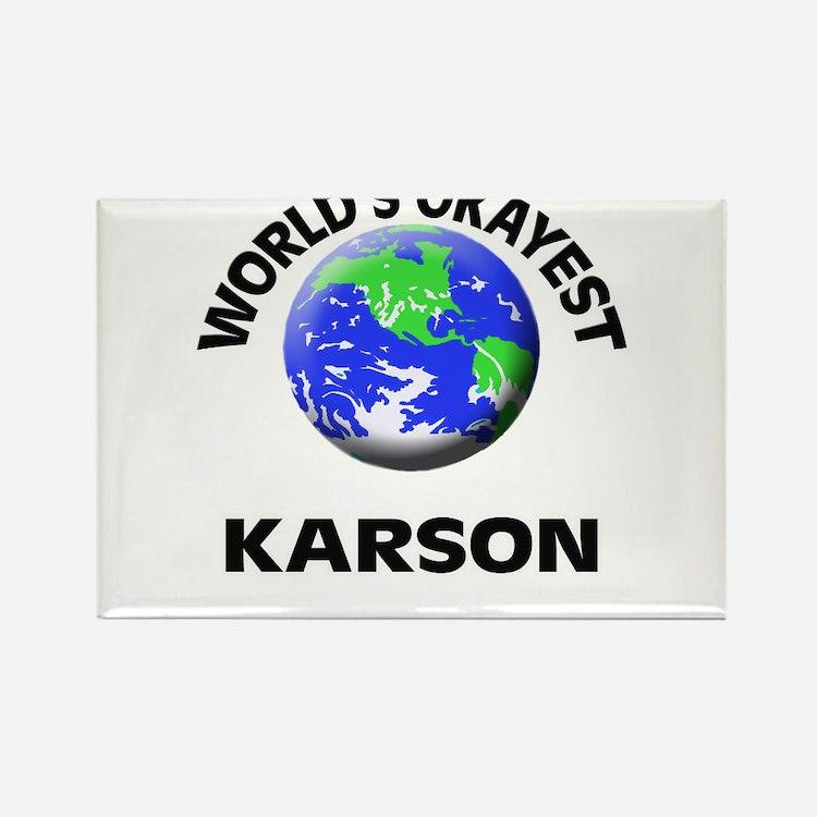 World's Okayest Karson Magnets