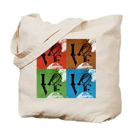 LOVE SQUARED Tote Bag