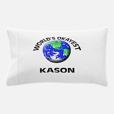 World's Okayest Kason Pillow Case