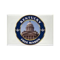 Kentucky Freemason Rectangle Magnet (100 pack)
