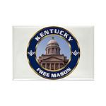 Kentucky Freemason Rectangle Magnet