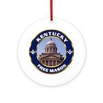 Kentucky Freemason Ornament (Round)
