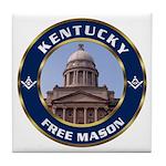 Kentucky Freemason Tile Coaster