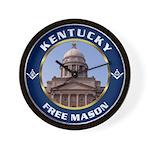 Kentucky Freemason Wall Clock
