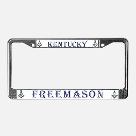 Kentucky Freemason License Plate Frame