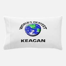 World's Okayest Keagan Pillow Case