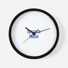 Bryce's Nana Wall Clock