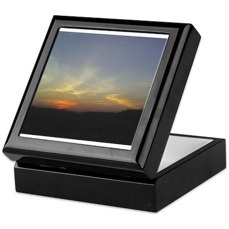 Sunset Keepsake Box