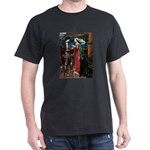 Tristan / Std Poodle(blk) Dark T-Shirt