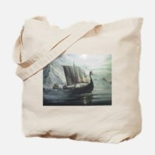 Viking Ship Tote Bag