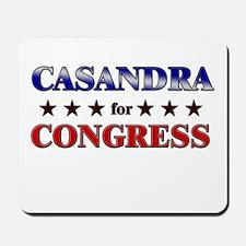 CASANDRA for congress Mousepad