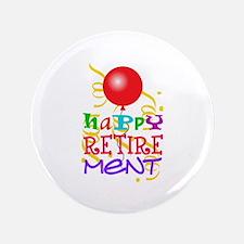 "Happy Retirement 3.5"" Button (100 pack)"