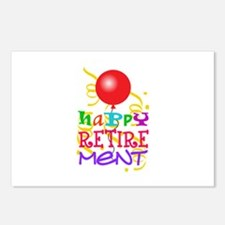 Happy Retirement Postcards (Package of 8)
