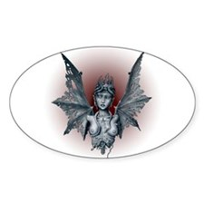 Decaying Lilith Oval Decal