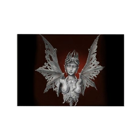 Decaying Lilith Rectangle Magnet (10 pack)