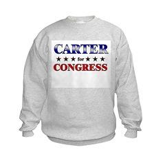 CARTER for congress Sweatshirt