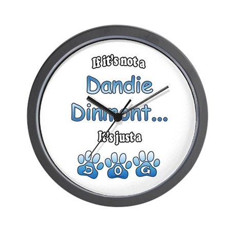 Dandie Not Wall Clock