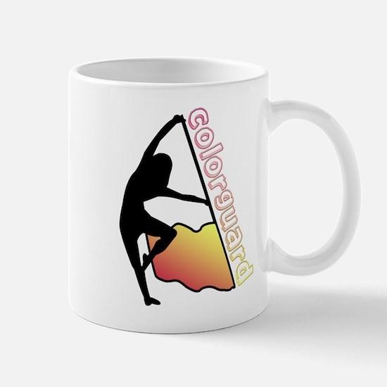Colorguard Flag Mug