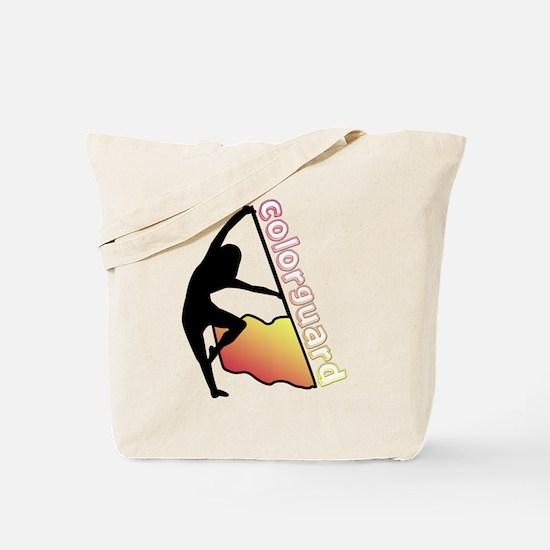 Colorguard Flag Tote Bag