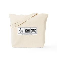Birth-Coasters-Death Tote Bag
