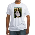 Mona / Std Poodle(w) Fitted T-Shirt