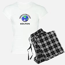 World's Okayest Kolton Pajamas